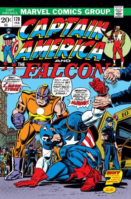 Captain America 170 (février 1974)