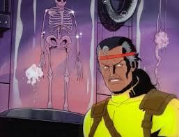 Squelette de Wolverine en 2055
